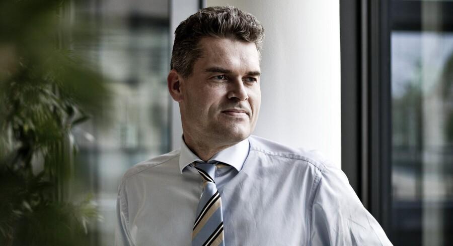 Departementchef i Skatteministeriet, Jens Brøchner, var fysisk fraværende i ministeriet af barselslignende årsager. Arkivfoto: Dennis Lehmann