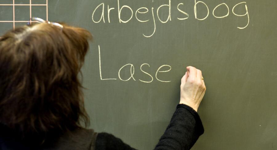 En ny undersøgelse konkluderer, at 6,3 procent af eleverne i folkeskolen har adfærdsproblemer. 4,9 procent af eleverne har specifikke indlæringsvanskeligheder. Andre kæmper med adhd, mens nogle har syns- og høreproblemer. Scanpix/Steffen Ortmann