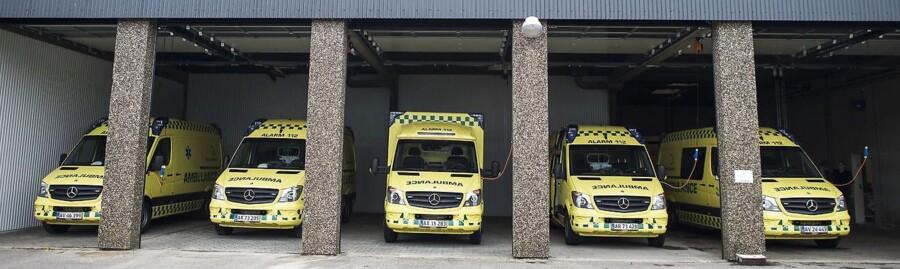 Region Syddanmark overtager ambulancedriften midlertidigt.