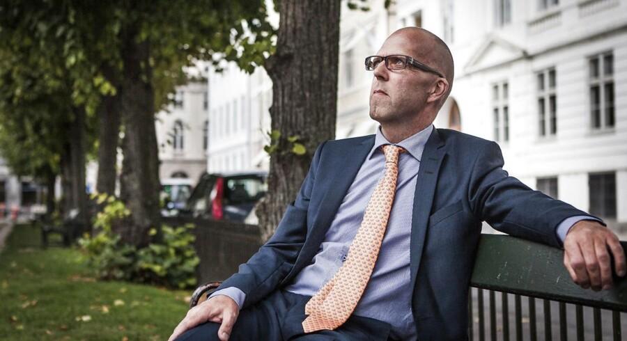 Portræt af Per Hallgren, administrerende direktør i Jeudan.