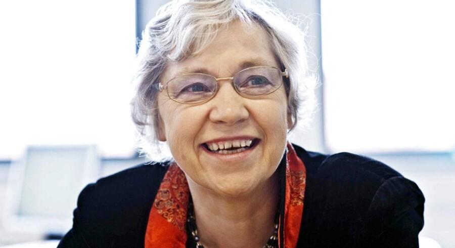 Ingrid Stage regner med at fortsætte som formand for Dansk Magisterforening, når hendes midlertidige ansættelse hos Akademikerne slutter i december.