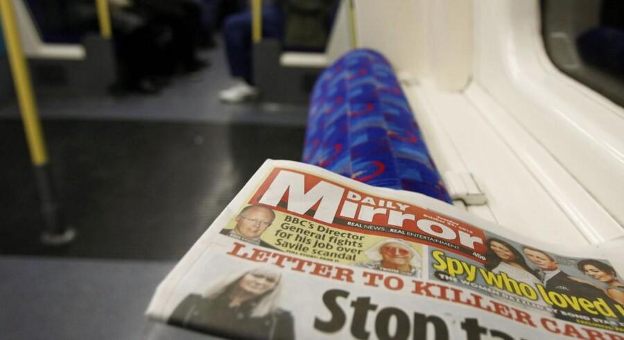 Daily Mirror er nu også under anklage for at have aflyttet kendte menneskers telefonsvarere.