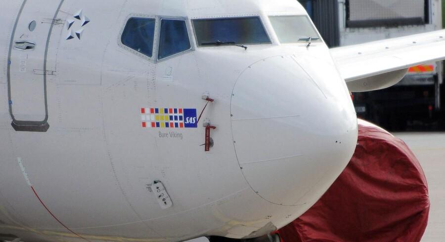 Der kan være gode nyheder på vej til tilhængere af en ny lufthavn ved Aarhus. (AFP PHOTO/SCANPIX/Johan Nilsson)