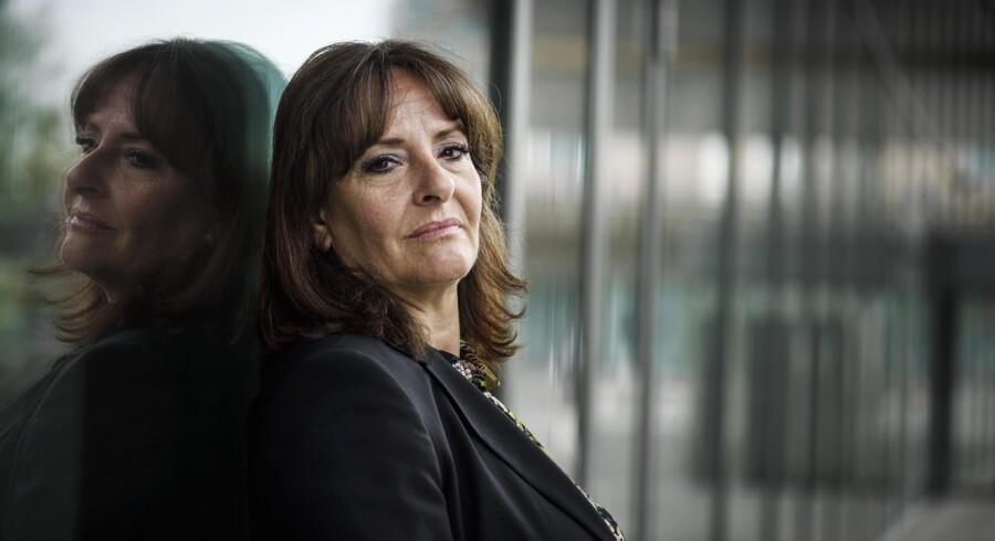Anja Monrad er formentlig den højestplacerede danske kvinde i den internationale IT-verden herhjemme. Foto: Niels Ahlmann Olesen