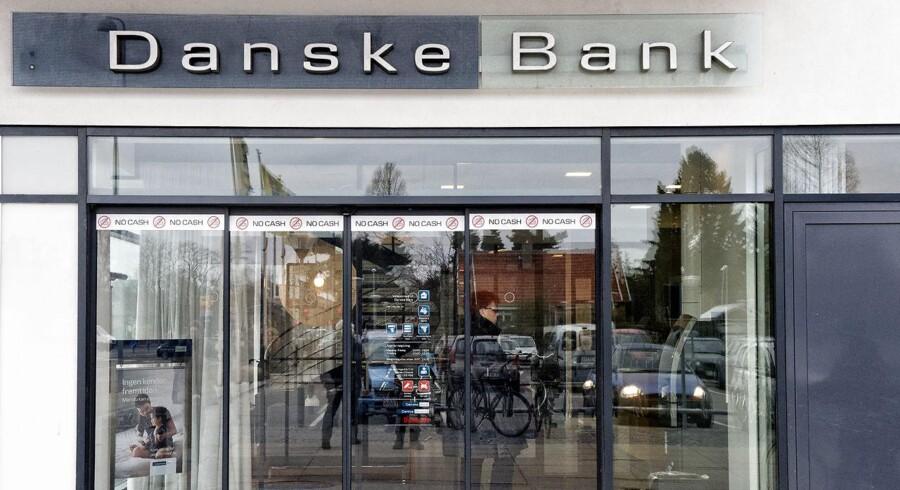 Danske Bank kom bedre ud af første kvartal end ventet af analytikerne blandt andet på baggrund af lavere omkostninger end ventet, ligesom nedskrivningerne også har udviklet sig bedre end estimeret. Desuden er det lykkes at tiltrække nye kunder.(Foto: Jens Nørgaard Larsen/Scanpix 2016)