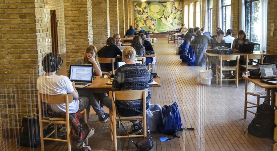ARKIVFOTO: Studerende på Aarhus Universitet.
