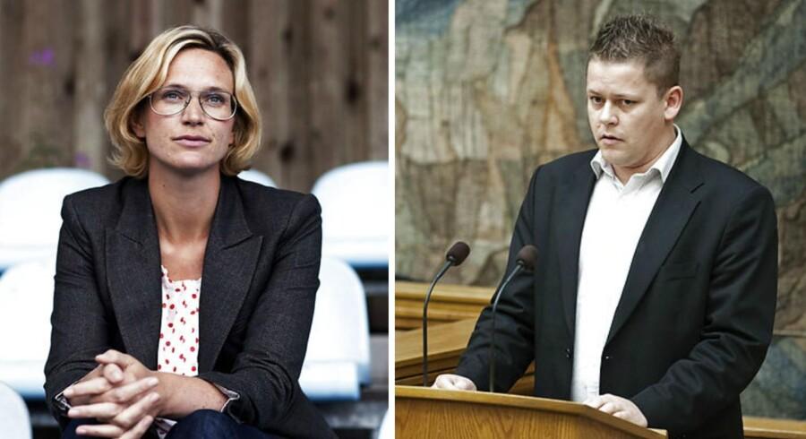 Dansk Folkepartis skatteordfører, Dennis Flydkjær, beskylder Liberal Alliance for at have hapset deres idé om at oprette et Skattelovråd. LAs skatteordfører, Merete Riisager, afviser at have »lånt« ideen.