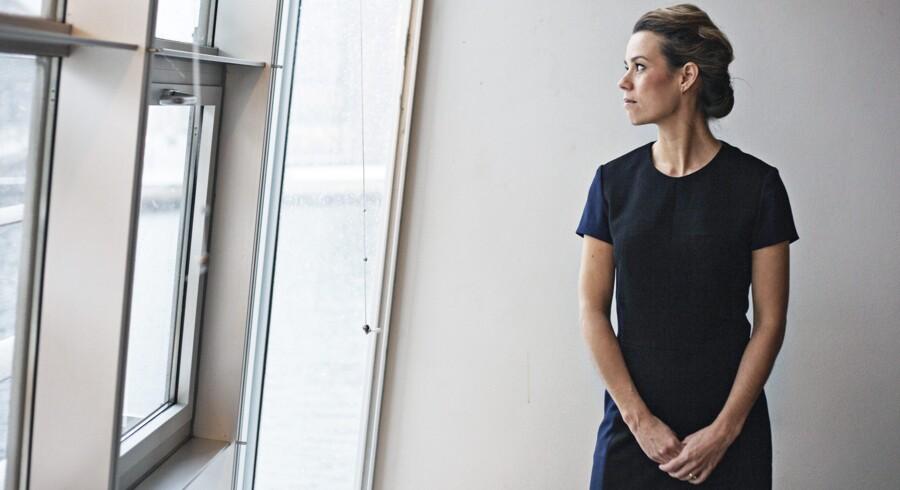 KVINFOs direktør, Nina Groes, er 35 år og er dermed blandt de 44 procent af de danske kvinder på 35 år, der har fuldført en videregående uddannelse.
