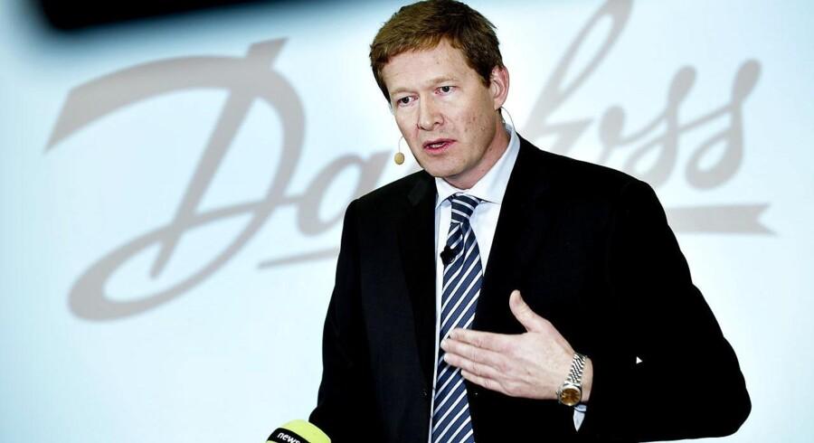 Danfoss' administrerende direktør Niels B. Christiansen. ARKIVFOTO.