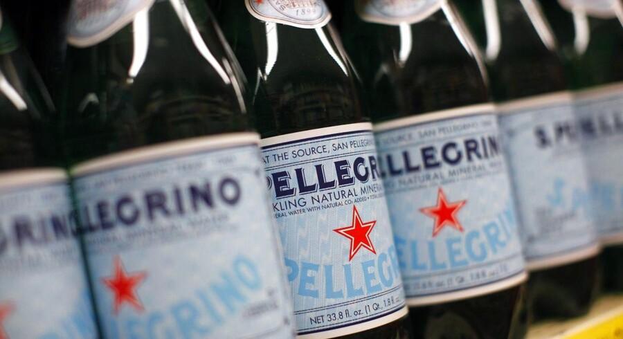 En af de steder, hvor Nestlé kunne notere sig en succes, var inden for drikkevand. Selskabet, der ejer over 2000 brands, der i blandt kendte mærker som Nescafé, Oreo og en hulens bunke slik, omsatte for 88,8 milliarder schweizerfranc, 600 milliarder kroner. Arkivfoto.