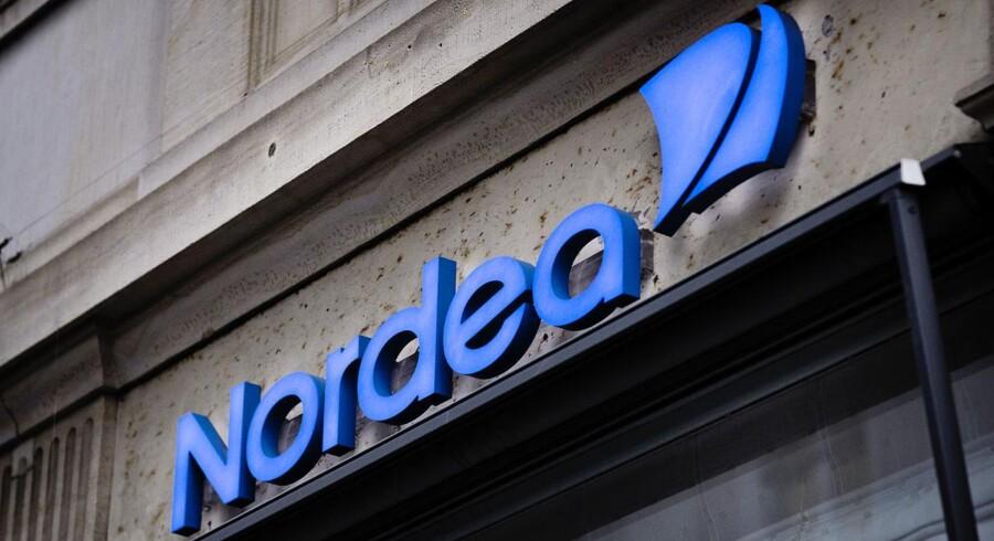 Nordea var en af de banker, der udbetalte højere løn til de ansatte i 2014. FOTO: Thomas Lekfeldt/Scanpix