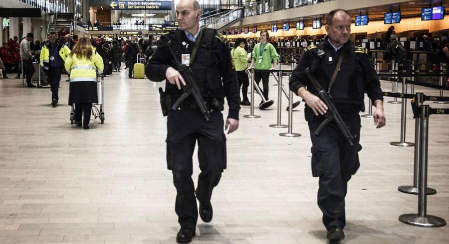 I forbindelse med terrorangrebet i Bruxelles blev der indsat forhøjet beredskab i Københavns Lufthavn.