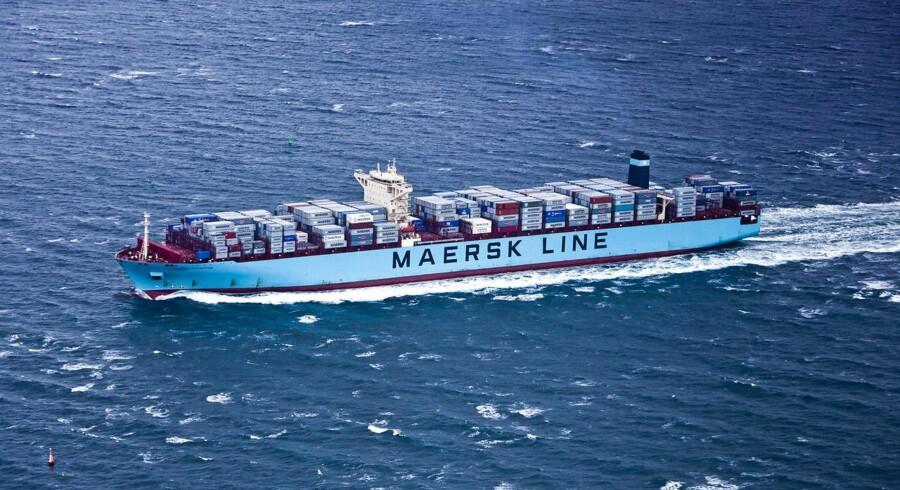 Maersk Line og 14 andre containerrederier har indgået et forlig med EU-Kommissionen i en konkurrencesag vedrørende rederiernes annoncering af prisforhøjelser. Arkivfoto.
