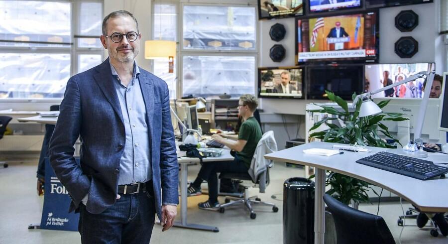 Portræt af Claus Skovhus. Tirsdag den 6. oktober 2015