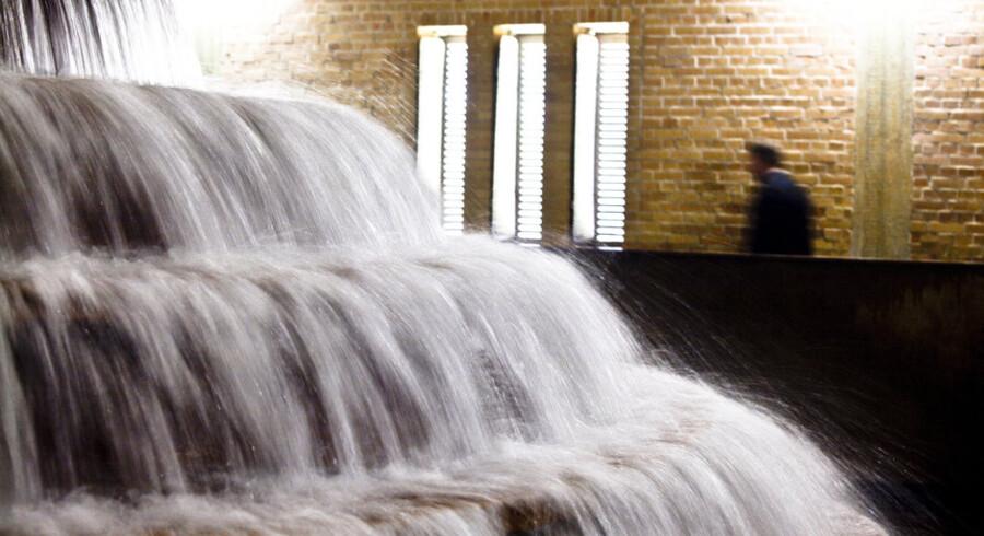 Kaskader af rent vand er ingen selvfølge i Brasilien, hvor 28 millioner indbyggere i og omkring Sao Paolo i perioder i både 2014 og 2015 måtte undvære vand hver tredje dag på grund af tørke. Selv om Brasilien er ramt af en økonomisk nedtur, er situationen er ensbetydende med et stort vækstpotentiale for dansk vandteknologi. Den danske ventilproducent AVK i Galten har således netop opkøbt en brasiliansk ventilproducent og har dermed to selskaber i landet.Foto: Nikolai Linares