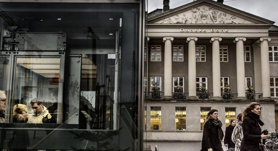 Fler eaf de markante jobskifter i 2013 fandt sted i Danske Bank. Også Nykredit fik ny direktør.