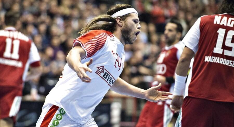 Danske håndboldherrer booker billet til EM i Kroatien (foto: Henning Bagger / Scanpix 2017)
