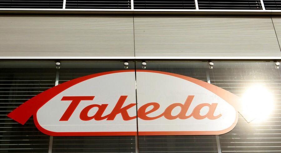 Japanske Takeda er på vej med et bud yil Tigenix på 1,78 euro per aktie. Arkivfoto.