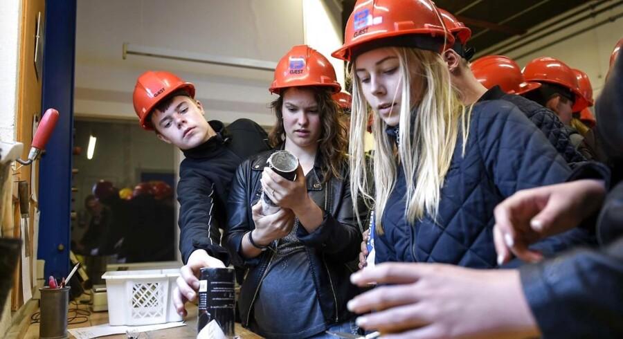 Årets optag viser, at de studerende gerne vil ind i det private erhvervsliv. Det glæder Dansk Erhverv.
