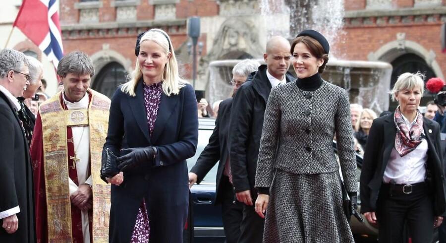 Kronprinsesse Mary og den norske kronprinsesse Mette-Marit deltog i markeringen af 150-årsdagen for de faldne i Helgolandsslaget i 1864. Prins Henrik deltog i en lignende begivenhed i Ebeltoft.