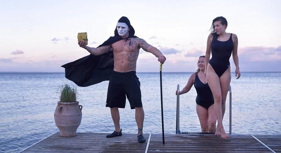 "BMINTERN - Henrik Baunkjær Sørensen er gusmester på Skodsborg Kurhotel og skal deltage i DM i Saunagus i Bjerringbro. I dag har saunagusen haft temaet ""Phantom of the Opera"""