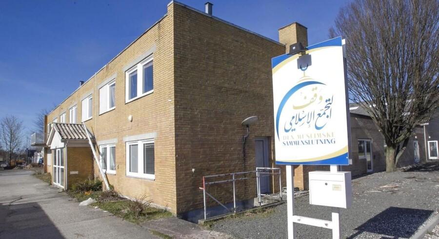 Moskeen på Grimhøjvej i Brabrand ved Aarhus.