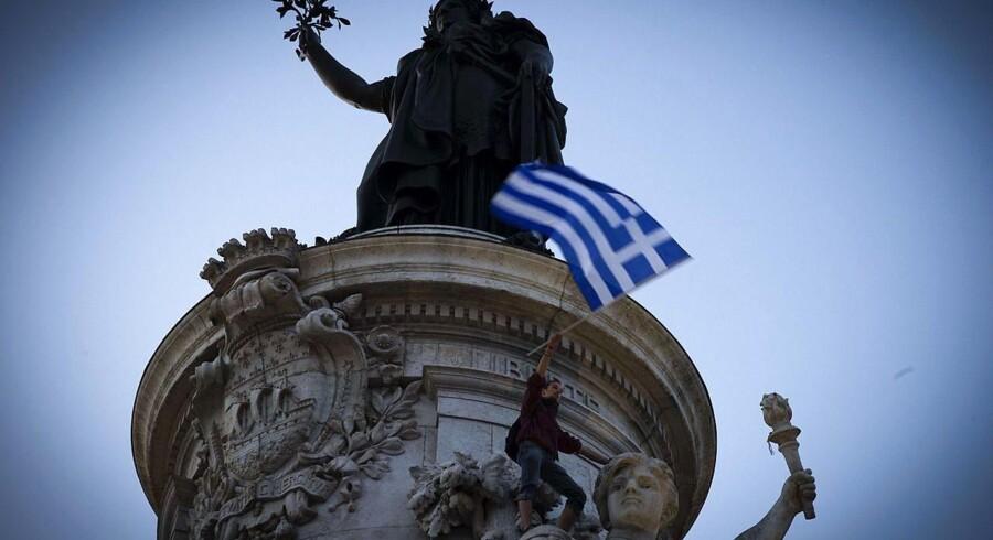 Situationen i Grækenland får også et ord med på vejen af valutafonden, som har en del penge til gode hos grækerne.