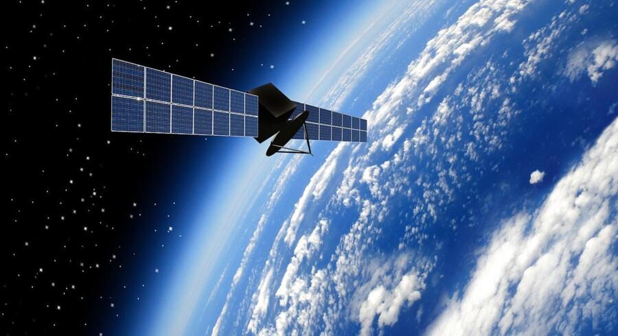 Arkivfoto fra Iris: satellit.