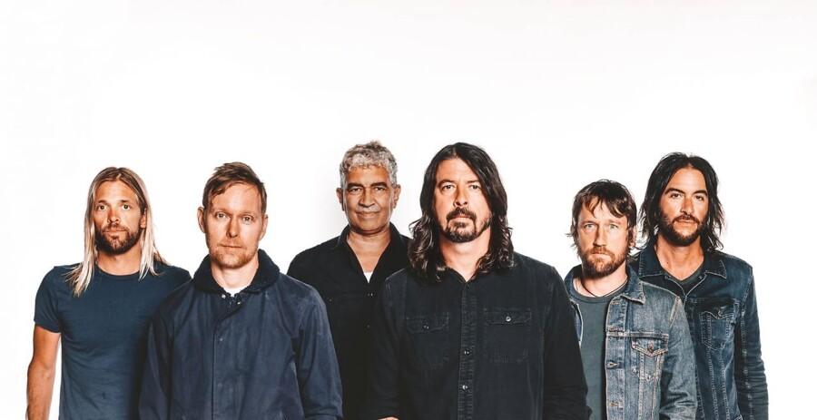 Amerikanske Foo Fighters er aktuelle med deres niende album »Concrete And Gold«.