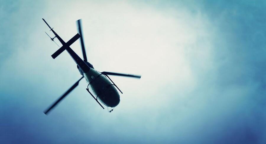 Arkivfoto. Helikoptervirksomheden Bel Air Aviation har over de seneste fire måneder mistet to store kontrakter, og derved 75 pct. af deres indtægter.