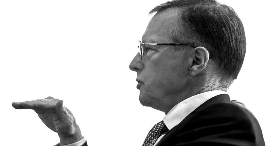 Nils Smedegaard Andersen fastslår, at Mærsk manglende opkøb i 2015 blandt andet kan forklares med, at priserne ikke afspejlede den nedtur, branchen befinder sig i.