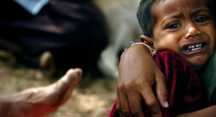ARKIVFOTO: Flygtningelejr i Sri Lanka.