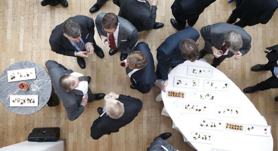 Topchefer i danske virksomheder har noget at fejre. Fra 2013 til 2014 er deres lønpakker steget med 22 procent.
