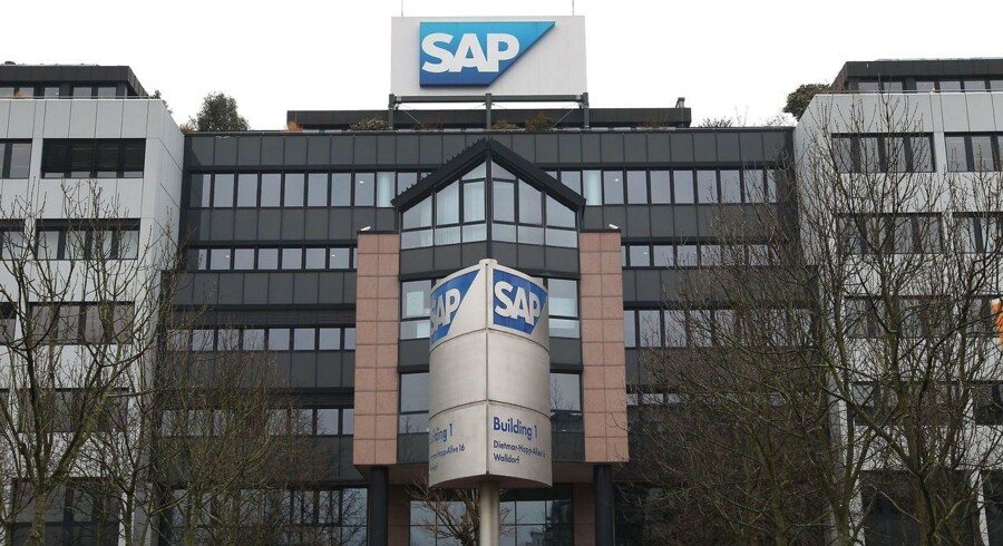 SAPs hovedkvarter i Tyskland.