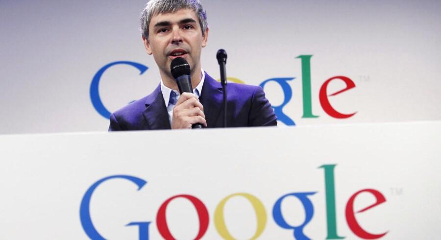 Google-CEO Larry Page sparer internetvirksomheden penge ved at kanalisere dem forbi et skattely på Bermuda.