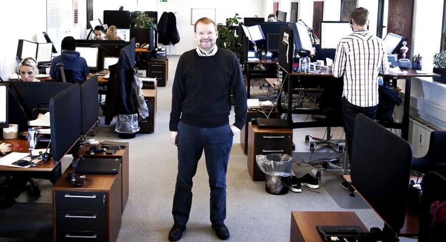 Kaare Danielsen, der er stifter af JobIndex.