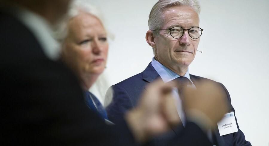 Lundbeck-formand Lars Rasmussen vil ikke opstille en deadline for, hvornår det danske medicinalselskab kan præsentere en ny topchef.