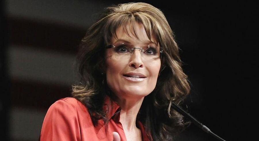 ARKIVFOTO 2012 af Sarah Palin.