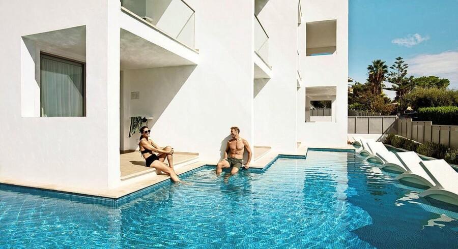 Historien om Mallorca er bl.a. båret frem af luksushoteller. Foto: Spies