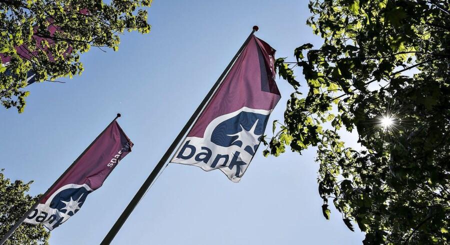 Spar Nord Bank, hovedsæde i Aalborg.