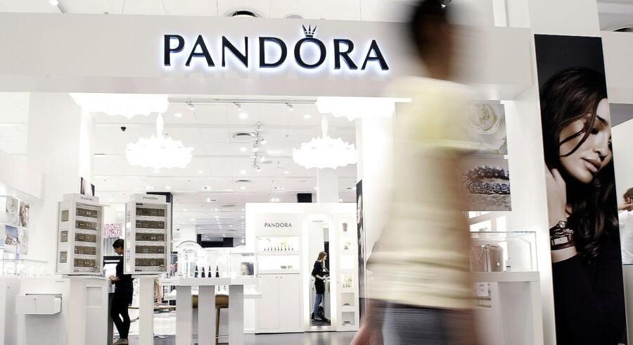 Arkivfoto. Pandora-aktien stiger 0,6 pct. til 655 kr.