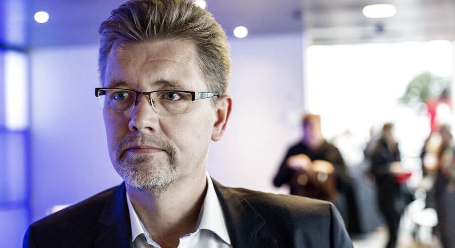 Københavns Overborgmester Frank Jensen i LO huset på Islands brygge