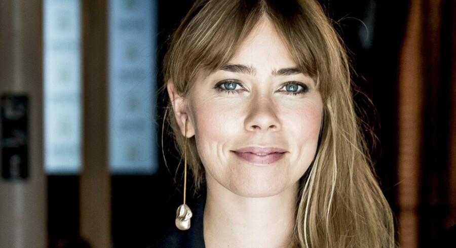 Birgitte Hjort Sørensen bliver mor for første gang i sensommeren. Scanpix/Mads Claus Rasmussen