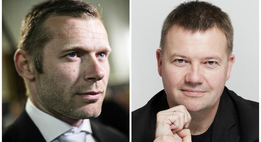 Joachim B. Olsen og Tom Jensen.