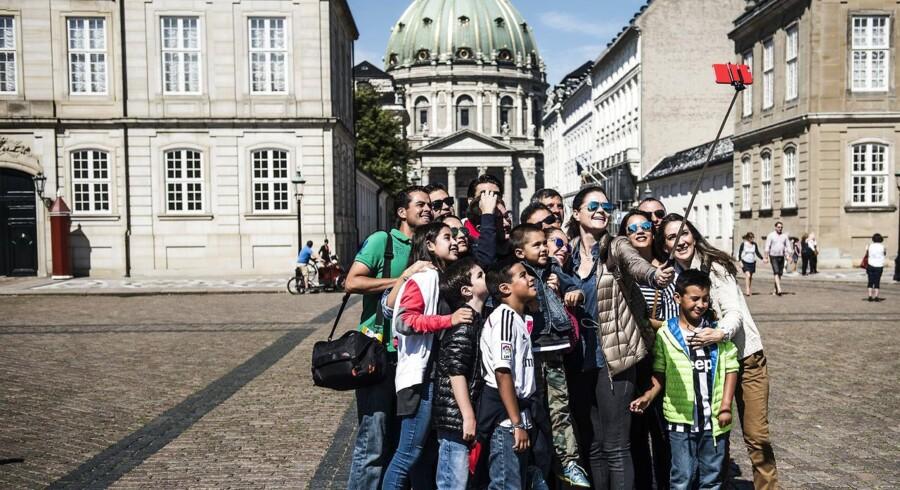 Turister i København
