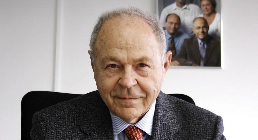 Nils Foss døde kort efter sin 90 års dag. Arkivfoto