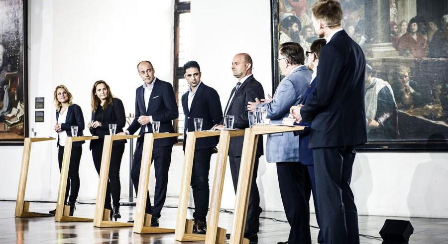 Tirsdag var der valgdebat mellem samtlige partier på Kronborg Slot. Debatten blev sendt live på TV2 News.