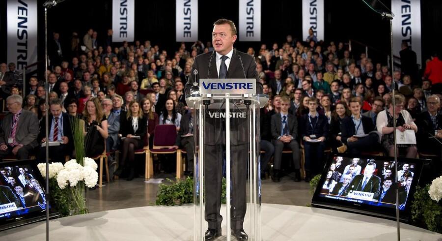 Venstres formand, Lars Løkke Rasmussen, sætter nu sig selv under massivt pres i spørgsmålet om håndværkerfradraget: Hvis Løkke får et blåt flertal i ryggen efter valget, men ikke får genindført håndværkerfradraget, så vil han ikke være statsminister.