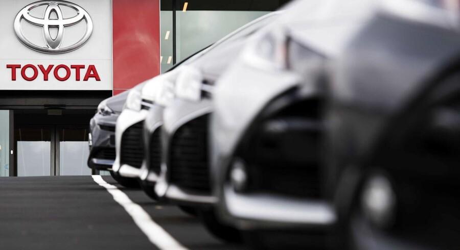 Op mod 1500 danske Toyota-bilejere skal på værksted, efter den japanske bilkoncern er blevet opmærksom på en fejl i fem forskellige modellers brændstofstank.