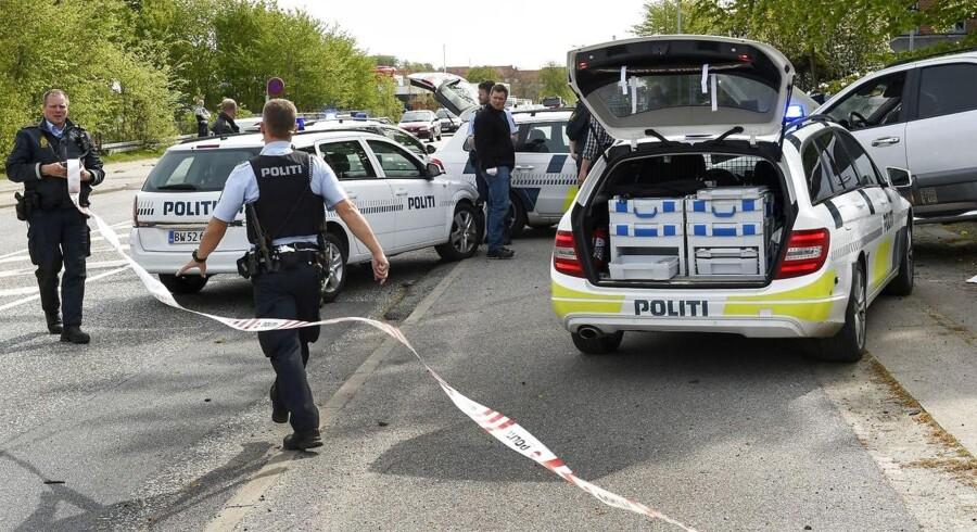 Arkivfoto. En 38-årig mand var påvirket af narkotika og havde ikke kørekort, da han stjal en kvindes bil og blev jagtet af politiet.